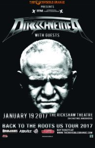 "Dirkschneider (original singer from Accept) ""Back to the Roots Tour\"" - January 19 at Rickshaw Theatre. Vancouver BC @ Rickshaw Theatre 