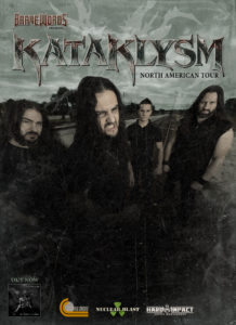 Kataklysm, Carach Angren with Gross Misconduct, Obsidian - October 2 at Red Room. Vancouver BC @ Red Room Ultra Bar (Vancouver) |  |  |
