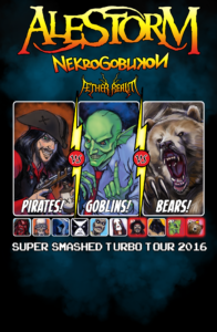 Alestorm with Nekrogoblikon and Aether Realm - October 18 at Rickshaw Theatre. Vancouver BC @ Rickshaw Theatre |  |  |