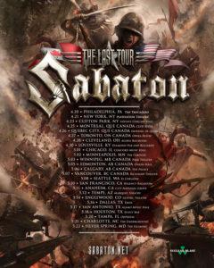Sabaton! Leaves Eyes/Battle Beast/Unleash the Archers at Ricksha @ Rickshaw Theatre |  |  |
