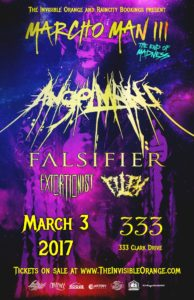 AngelMaker, Falsifier, Extortionist, Filth. 3/3 at 333. All Ages @ The 333 |  |  |