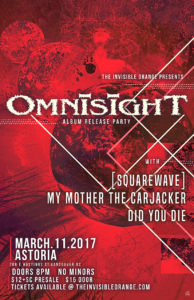OmnisighT, [squarewave], My Mother the Carjacker. at Astoria @ Astoria Hastings |  |  |
