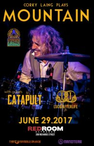 Corky Laing plays Mountain. June 29 at Red Room Vancouver. @ Red Room Ultra Bar (Vancouver)