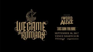 We Came As Romans :: Venue Night Club @ Venue Night Club | Vancouver | British Columbia | Canada