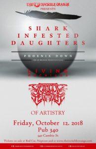 GALACTIC PEGASUS | Shark Infested Daughters | Living Machines | Of Artistry :: SBC Restaurant @ Pub 340 | Vancouver | British Columbia | Canada