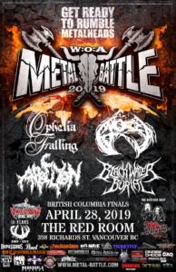 Wacken Metal Battle :: BC FINAL @ The Red Room