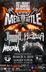 Wacken Metal Battle :: BC Round 1 (Victoria) @ Logan's Pub