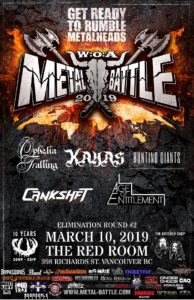 Wacken Metal Battle :: BC Round 2 (Vancouver) @ The Red Room