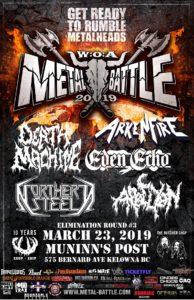 Wacken Metal Battle :: BC Round 3 @ Munnin's Post