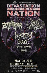 DEVASTATION ON THE NATION TOUR 2019 @ The Rickshaw Theatre