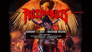 ROSS THE BOSS (Manowar) @ Rickshaw Theatre