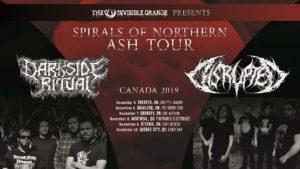 DARKSIDE RITUAL + DISRUPTED 2019 CANADA TOUR @ Various across Canada