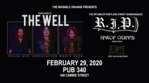 THE WELL + R.I.P. @ The Pub 340